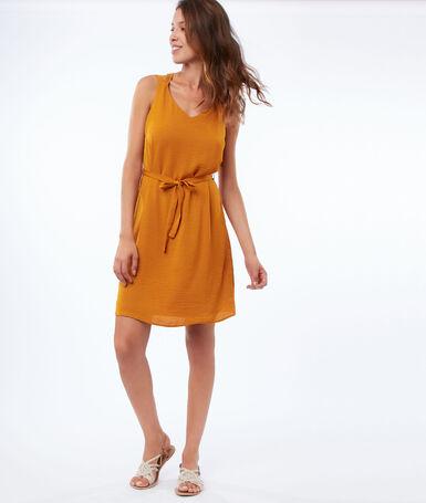 Dress with back neckline honey.