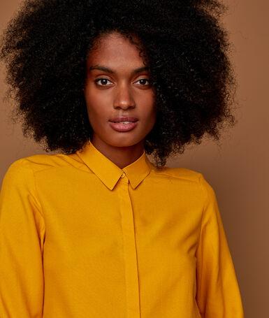 Plain blouse ocre.