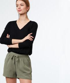 Plain shorts khaki.
