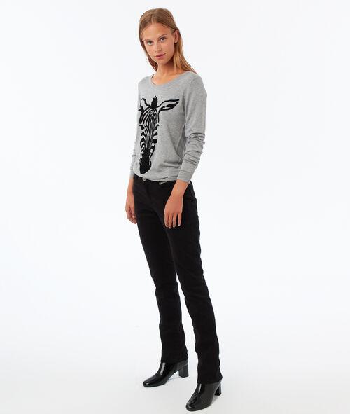 Straight cut pants
