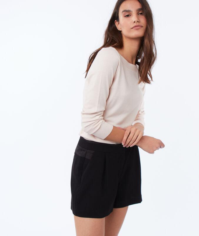 Plain shorts black.