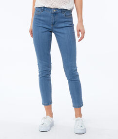 Skinny jeans midwash blue.