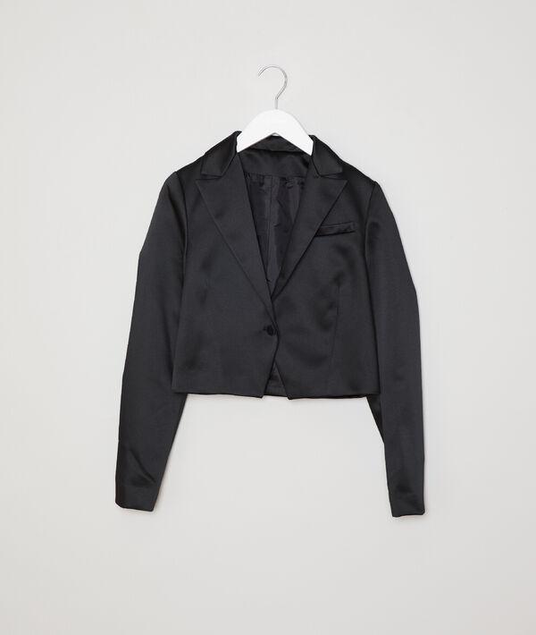 Satin formal jacket