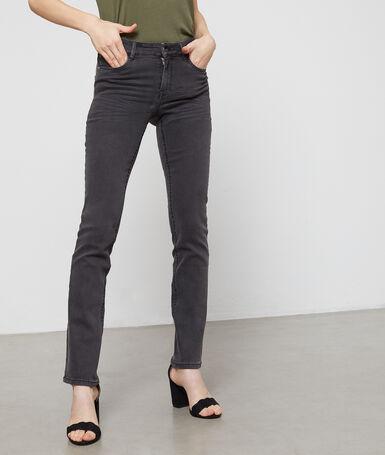 Straight leg jeans grey.