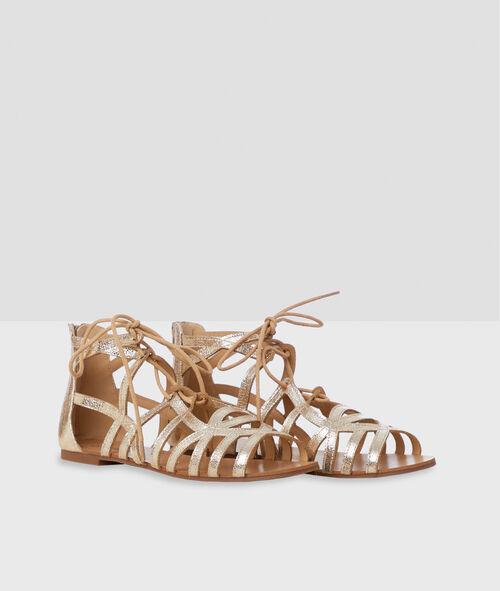 Glitter sandals