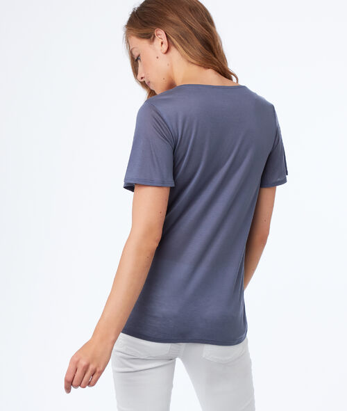Tencel® v-neck t-shirt