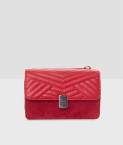 Bi-material bag red.