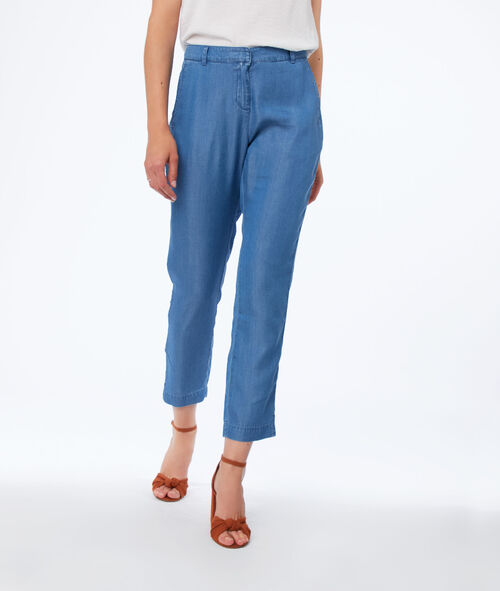Carrot pants in tencel®