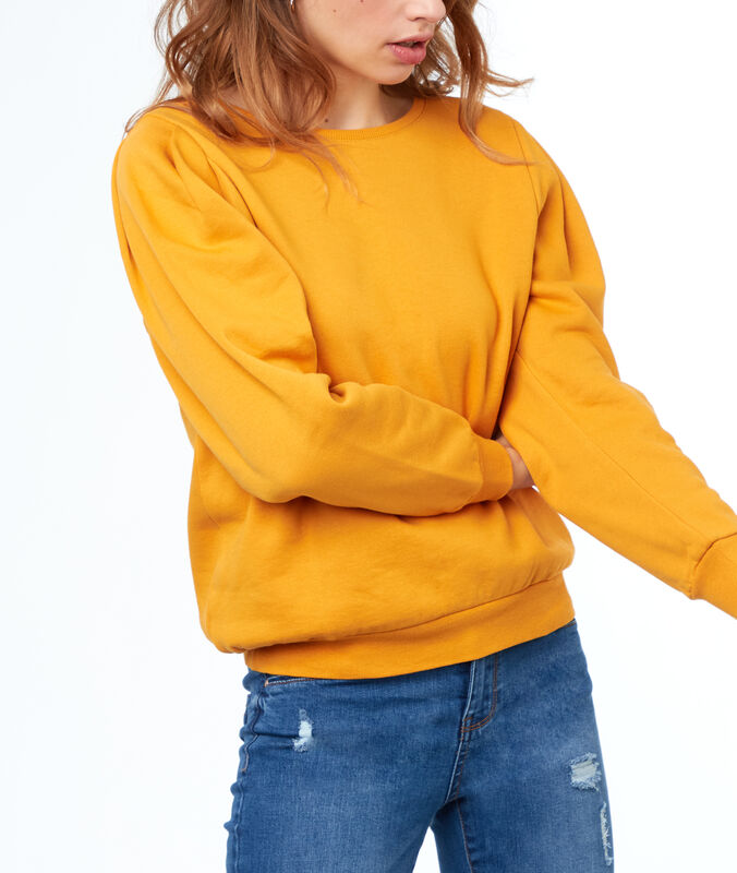 Sweatshirt ochre.