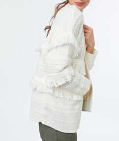 Cardigan off-white.