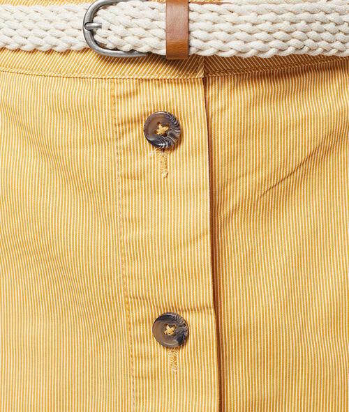 100% organic cotton skirt