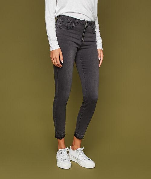 Pantalon 7/8 zippé