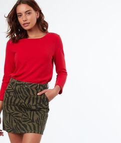 Skirt khaki.