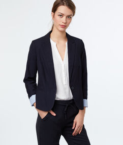 Blazer navy blue.