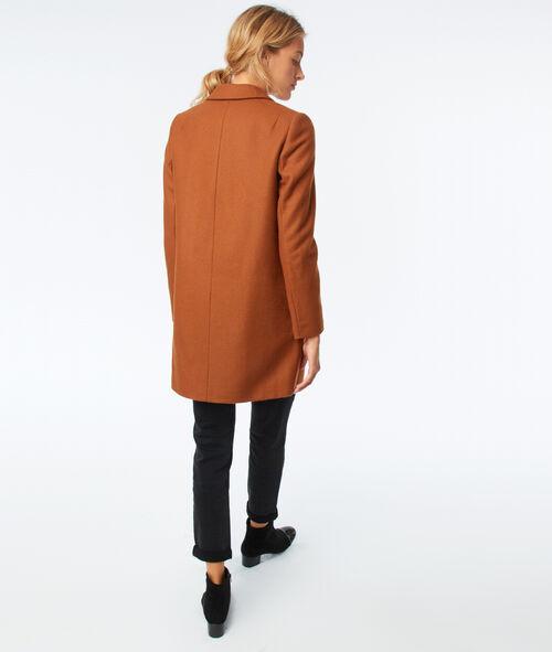 Manteau masculin 80% laine
