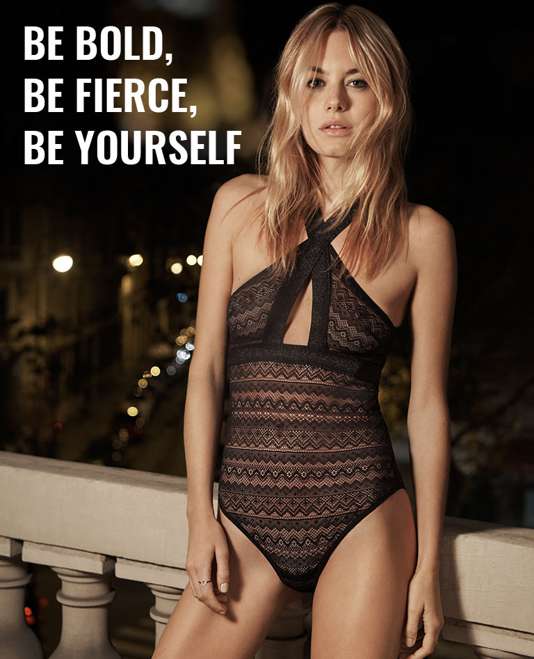 BE BOLD, BE FIERCE, BE YOURSELF