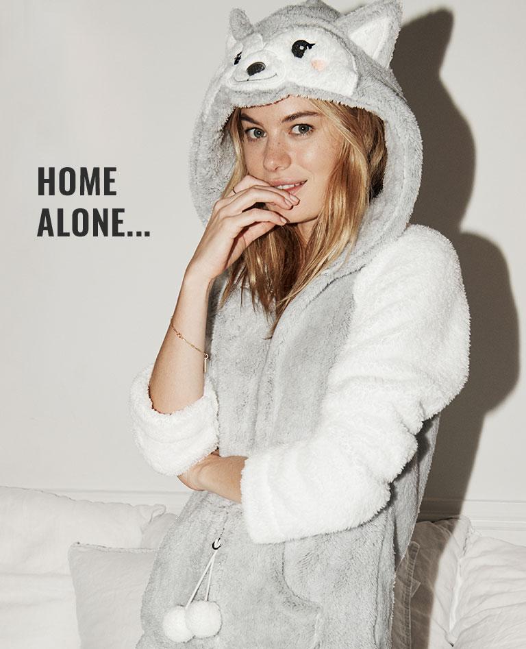 HOME ALONE...